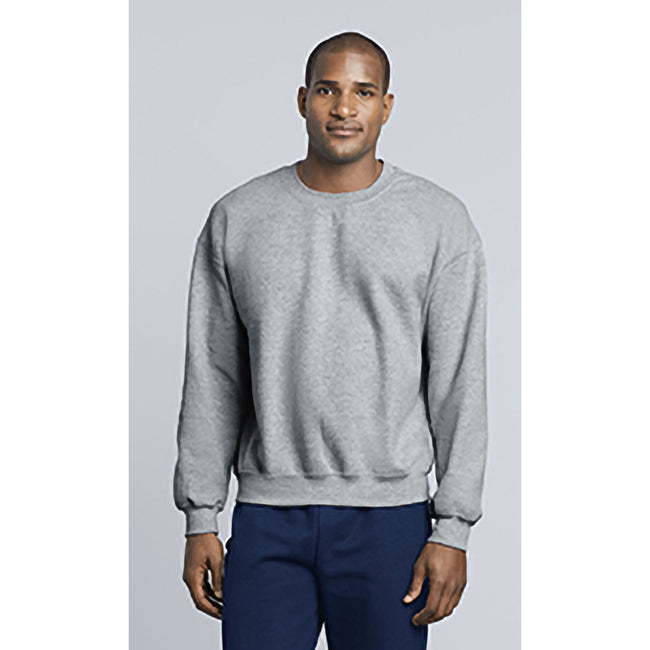 Sport Grey - Pack Shot - Gildan DryBlend Adult Set-In Crew Neck Sweatshirt (13 Colours)