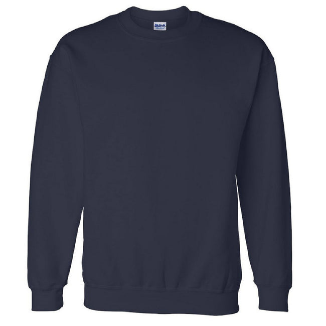 White - Front - Gildan DryBlend Adult Set-In Crew Neck Sweatshirt (13 Colours)