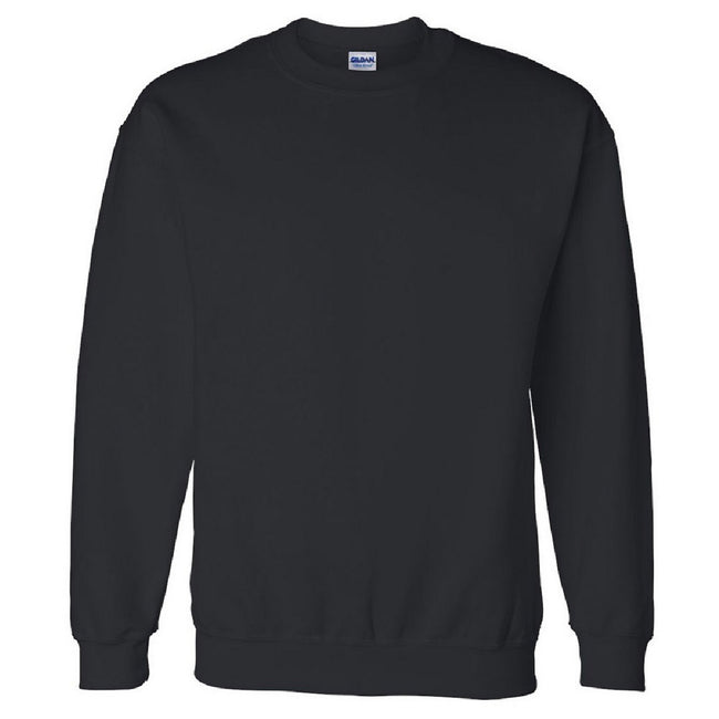 Navy - Front - Gildan DryBlend Adult Set-In Crew Neck Sweatshirt (13 Colours)