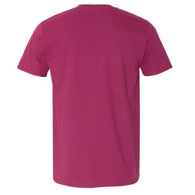 Orange - Back - Gildan Mens Short Sleeve Soft-Style T-Shirt