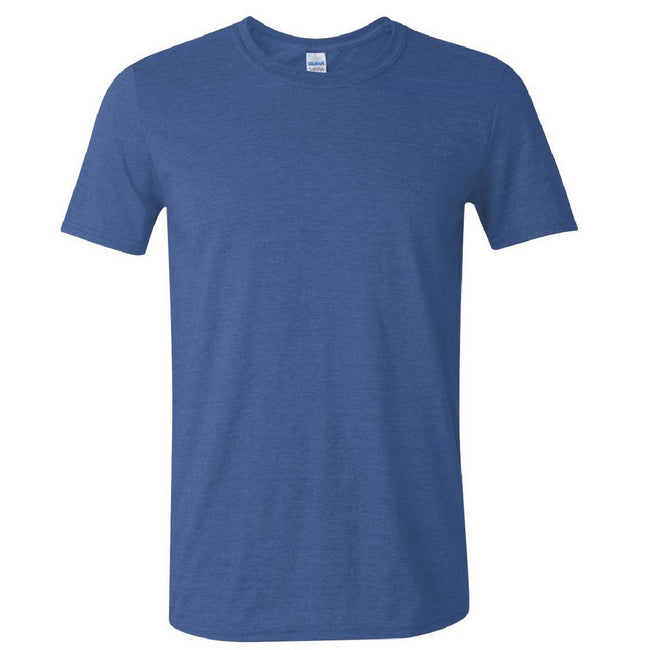 Royal - Front - Gildan Mens Short Sleeve Soft-Style T-Shirt
