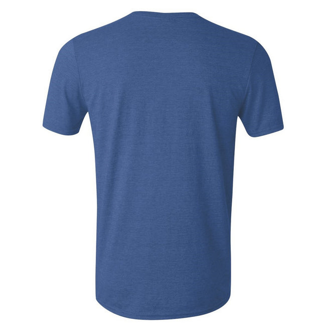 Royal - Back - Gildan Mens Short Sleeve Soft-Style T-Shirt
