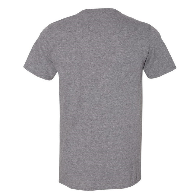 Metro Blue - Back - Gildan Mens Short Sleeve Soft-Style T-Shirt