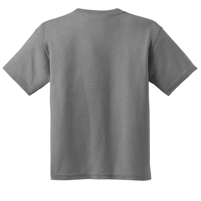 Charcoal - Pack Shot - Gildan Childrens Unisex Soft Style T-Shirt