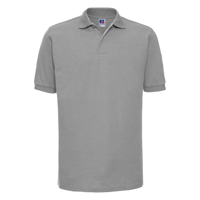 Bright Royal - Front - Russell Mens Ripple Collar & Cuff Short Sleeve Polo Shirt