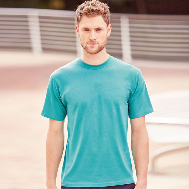 Winter Emerald - Back - Jerzees Colours Mens Classic Short Sleeve T-Shirt