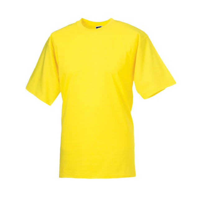 Yellow - Front - Jerzees Colours Mens Classic Short Sleeve T-Shirt