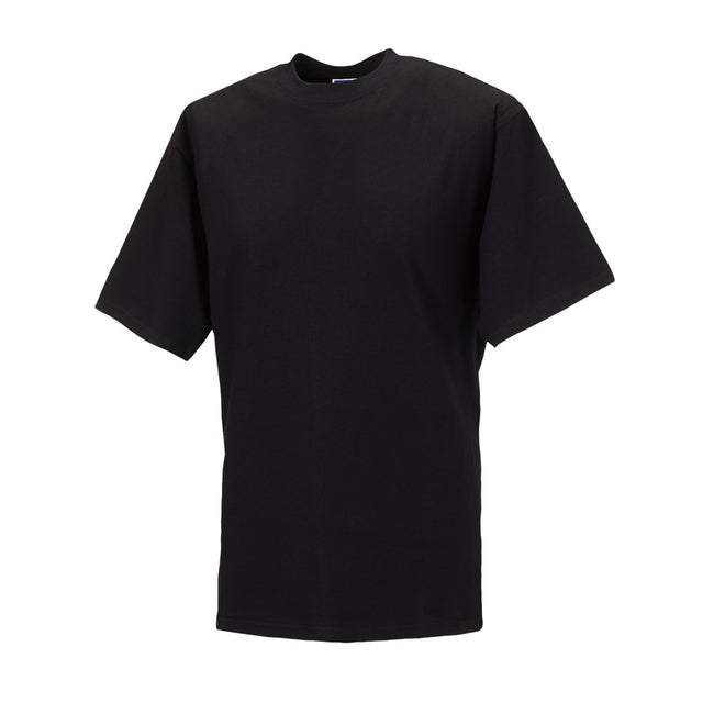 Black - Front - Jerzees Colours Mens Classic Short Sleeve T-Shirt