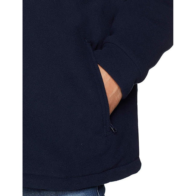 Dark Navy - Lifestyle - Regatta Mens Asgard II Quilted Fleece Jacket (Thermo-guard Insulation)