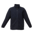Dark Navy - Front - Regatta Mens Asgard II Quilted Fleece Jacket (Thermo-guard Insulation)