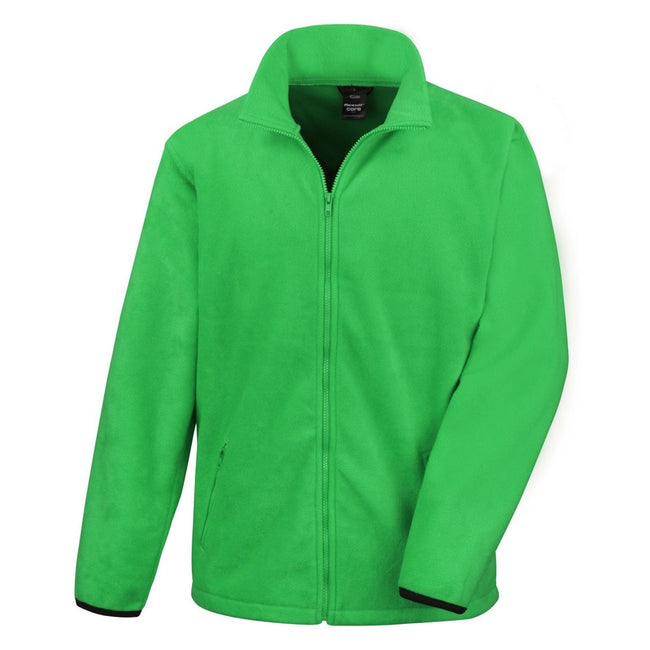 Vivid Green - Front - Result Mens Core Fashion Fit Outdoor Fleece Jacket