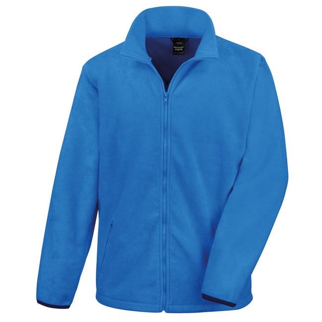 Electric Blue - Front - Result Mens Core Fashion Fit Outdoor Fleece Jacket