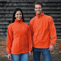 Orange - Lifestyle - Result Mens Full Zip Active Fleece Anti Pilling Jacket