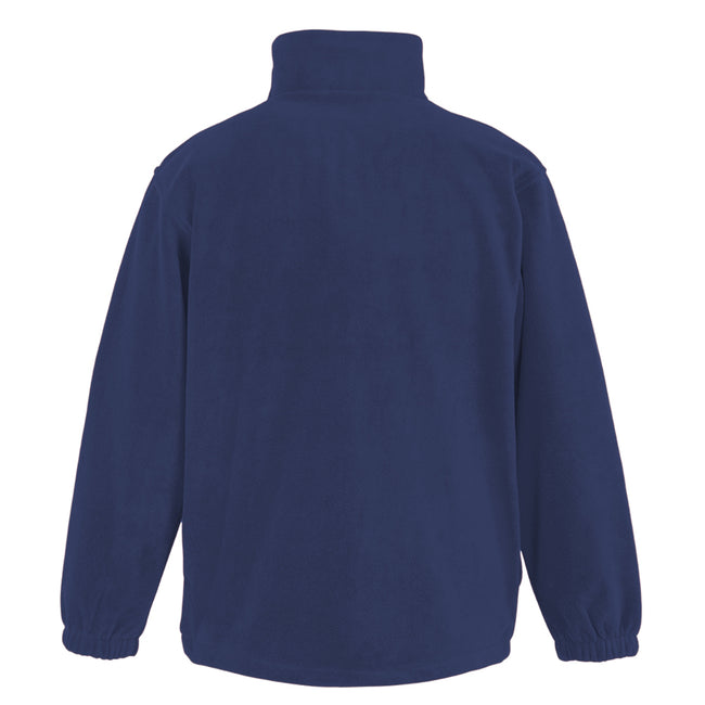 Navy Blue - Back - Result Mens Full Zip Active Fleece Anti Pilling Jacket
