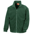 Forest Green - Front - Result Mens Full Zip Active Fleece Anti Pilling Jacket