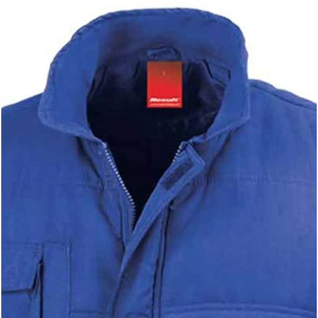 Black - Front - Result Mens Mid-Weight Bodywarmer Showerproof Windproof Jacket
