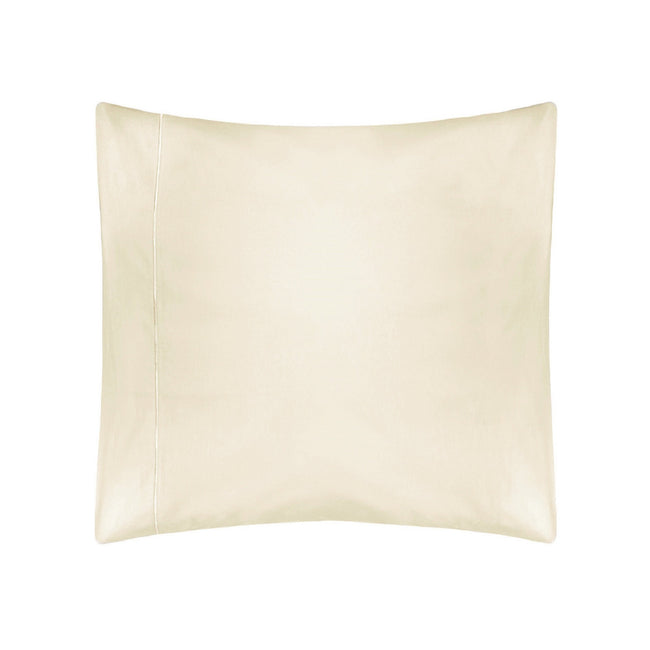 Ivory - Front - Belledorm 400 Thread Count Egyptian Cotton Continental Pillowcase