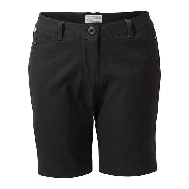 Black - Front - Craghoppers Womens-Ladies Kiwi Pro Shorts