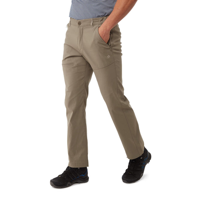 Pebble - Front - Craghoppers Mens Kiwi Pro Trousers