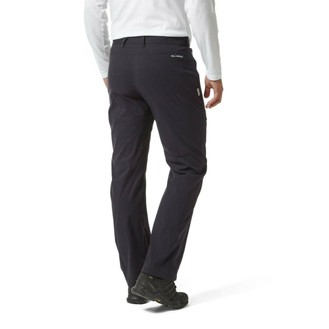 Dark Navy - Back - Craghoppers Mens Kiwi Pro Trousers