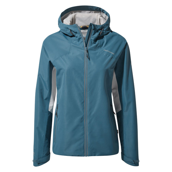 Venetian Teal - Front - Craghoppers Womens-Ladies Horizon Jacket