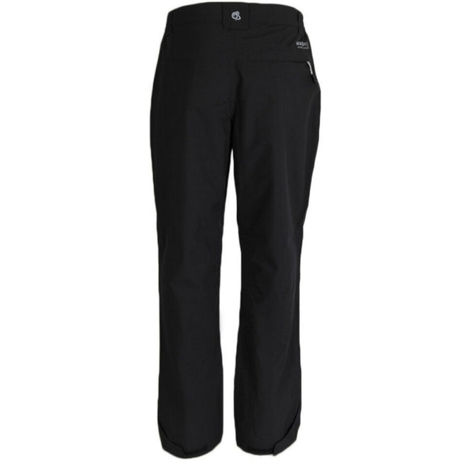 Black - Back - Craghoppers Outdoor Pro Mens Steall Stretch Trousers