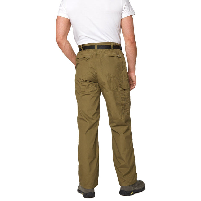 Black Pepper - Back - Craghoppers Outdoor Classic Mens Kiwi Stain Resistant Trousers