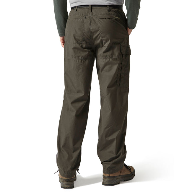Bark - Side - Craghoppers Outdoor Classic Mens Kiwi Stain Resistant Trousers