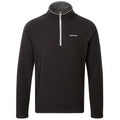 Black - Front - Craghoppers Mens Selby Half Zip Fleece Top