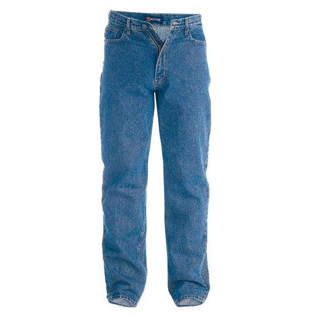 Bleach - Front - Duke Mens Rockford Comfort Fit Jeans