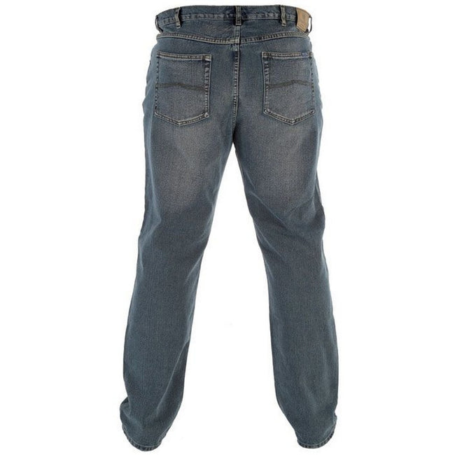 Bleach - Front - Duke Mens Rockford Kingsize Comfort Fit Jeans