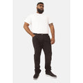 Black - Back - Duke Mens Rockford Kingsize Comfort Fit Jeans
