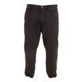 Black - Front - Duke Mens Rockford Kingsize Comfort Fit Jeans
