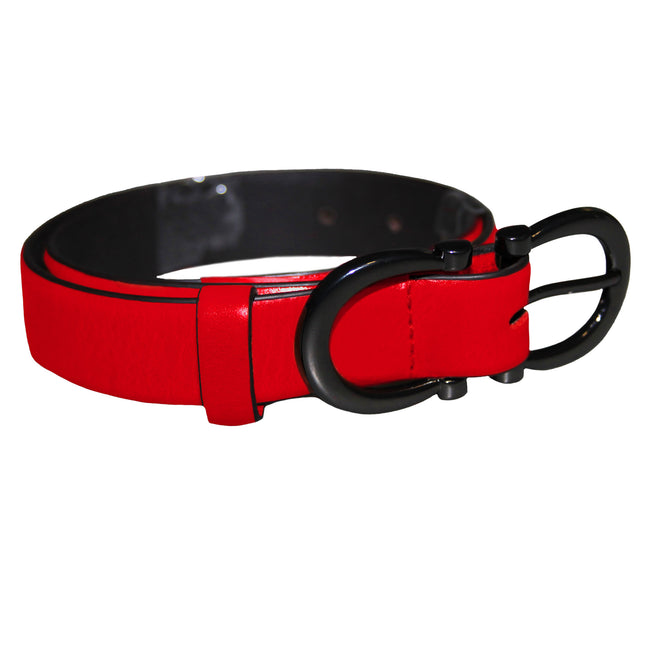 Tan - Front - Eastern Counties Leather Womens-Ladies Feature Buckle Belt