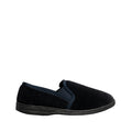 NAVY - Back - Mirak Highbury Slip-On Slipper - Mens Slippers