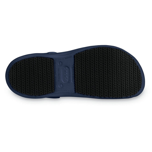 Navy - Lifestyle - Crocs Unisex Bistro 10075 Work Clogs
