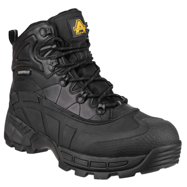 Black - Front - Amblers Mens FS430 Orca S3 Waterproof Leather Safety Boots