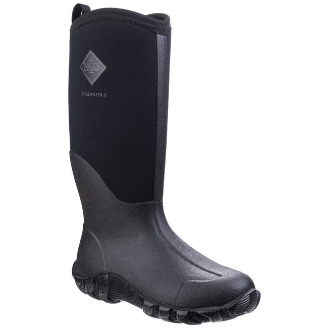 Black - Front - Muck Boots Unisex Edgewater II Multi-Purpose Boot