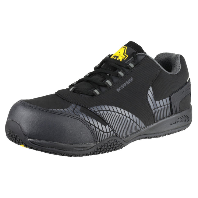 Black - Close up - Amblers Safety FS29C Mens Safety Trainers