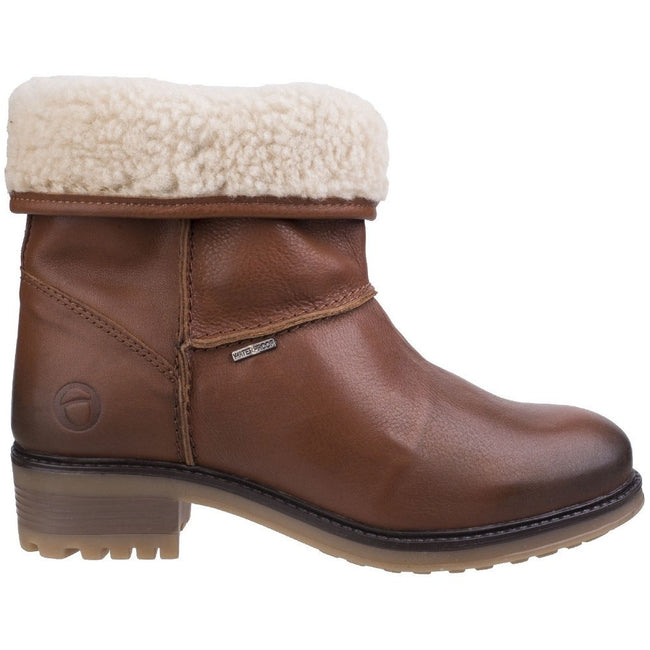 Tan - Back - Cotswold Womens-Ladies Bampton Waterproof Boots