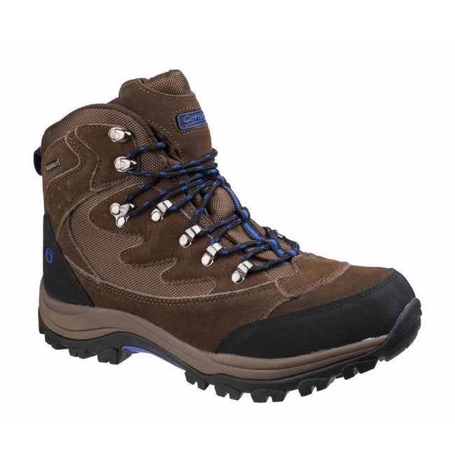 Brown - Front - Cotswold Mens Oxerton Waterproof Memory Foam Hiking Boots