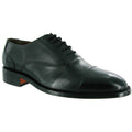 Black - Back - Amblers James Leather Soled Shoe - Mens Shoes