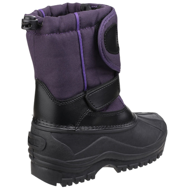 Purple - Pack Shot - Cotswold Childrens-Kids Avalanche Snow Boots