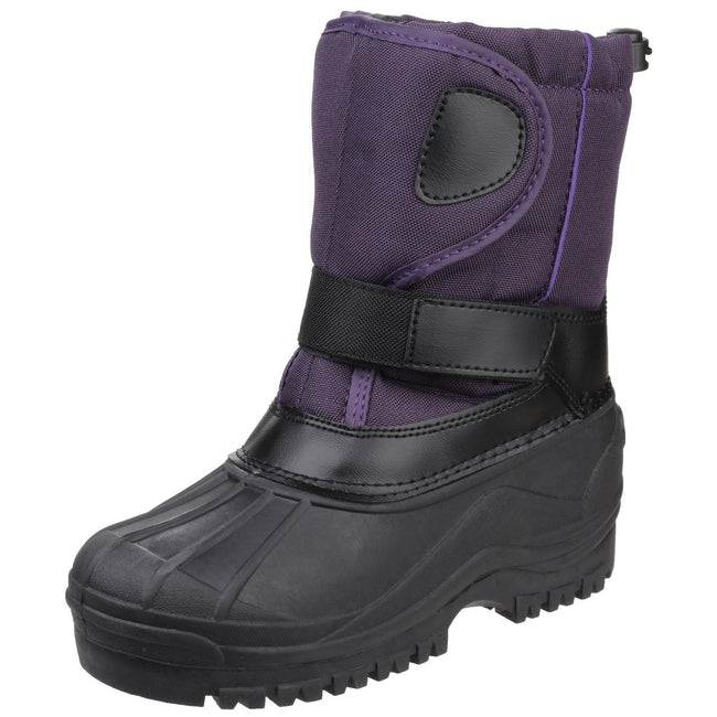 Purple - Lifestyle - Cotswold Childrens-Kids Avalanche Snow Boots