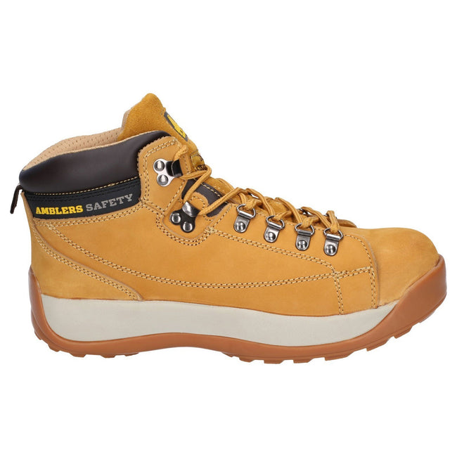 Honey - Side - Amblers Steel FS122 Safety Boot - Mens Boots