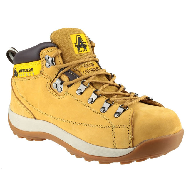 Honey - Front - Amblers Steel FS122 Safety Boot - Mens Boots