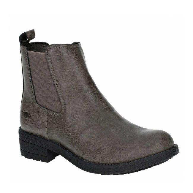 Charcoal - Back - Rocket Dog Womens-Ladies Tessa Slip On Boot