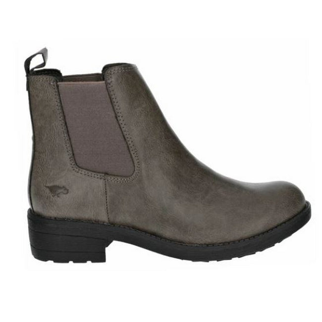 Charcoal - Front - Rocket Dog Womens-Ladies Tessa Slip On Boot