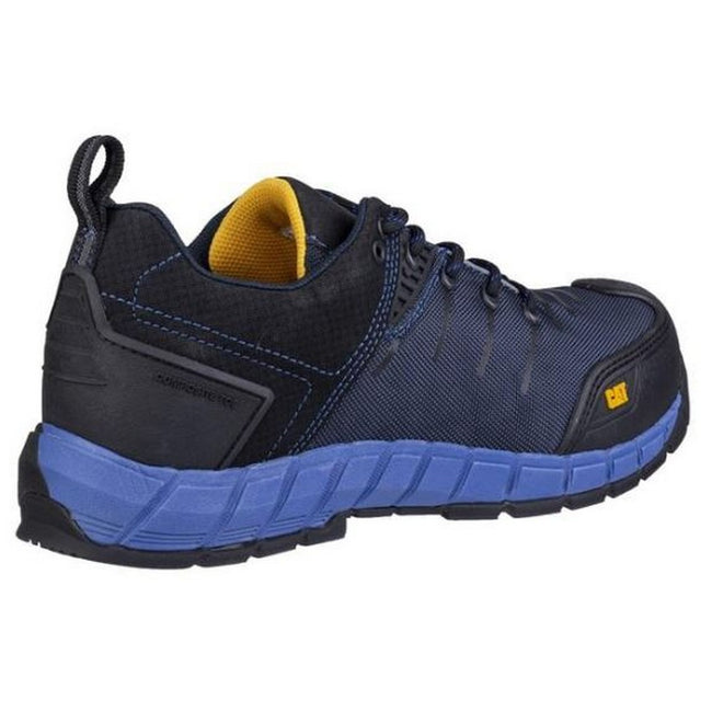 Blue Nights - Back - Caterpillar Mens Byway Lace Up Safety Trainer