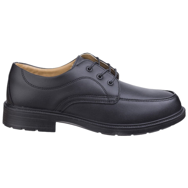 Black - Lifestyle - Amblers Steel FS65 Safety Gibson - Mens Shoes - Safety Shoes